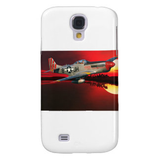 p-51 Mustang Galaxy S4 Case