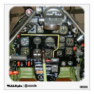 P-51 MUSTANG COCKPIT WALL STICKER