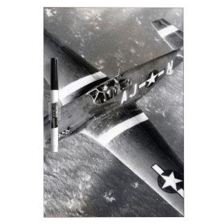 P-51 Mustang Dry-Erase Board