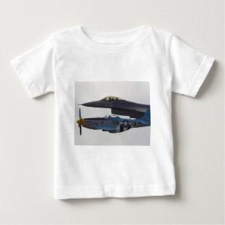 P-51 MUSTANG & F-16 EAGLE BABY T-Shirt