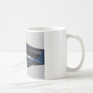 P-51 MUSTANG & F-16 EAGLE COFFEE MUG
