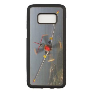 P-51 Mustang Fighter Aircraft Carved Samsung Galaxy S8 Case