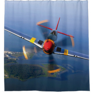 Airplane Shower Curtains | Zazzle
