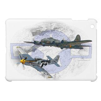 P-51 Mustang flying escort iPad Mini Cases