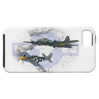 P-51 Mustang flying escort iPhone SE/5/5s Case
