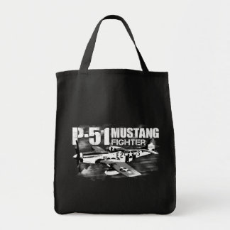 P-51 Mustang Grocery Tote