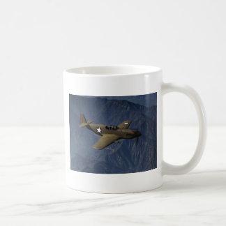 P-51 Mustang in Flight, 1942 Classic White Coffee Mug