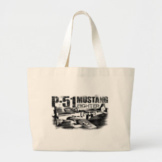 P-51 Mustang Jumbo Tote