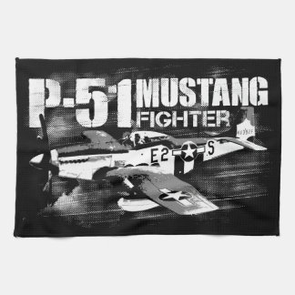 P-51 Mustang Kitchen Towels
