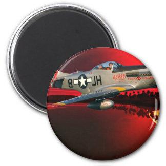 P-51 MUSTANG MAGNET