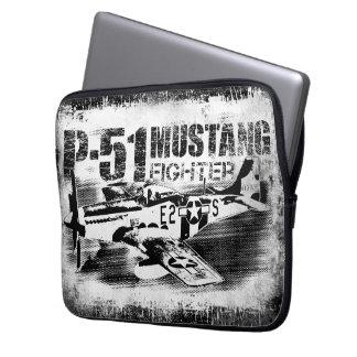 P-51 Mustang Neoprene Laptop Sleeve 13 inch