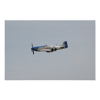 P-51 Mustang Print