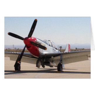 P-51 Mustang Red Tail Cards