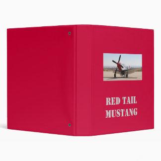 P-51 Mustang Red Tail, Red Tail Mustang Binder