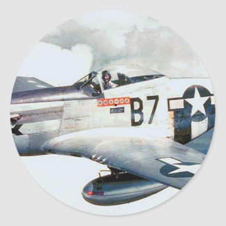 P-51 MUSTANG STICKERS