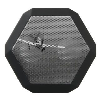 P-51 Mustang takeoff in storm Black Bluetooth Speaker