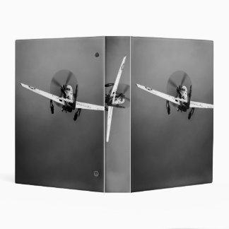 P-51 Mustang takeoff in storm Mini Binder