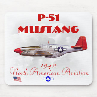 P-51 Mustang-WW II Mouse Pad
