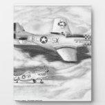 (P-51) Mustango Placas Para Mostrar