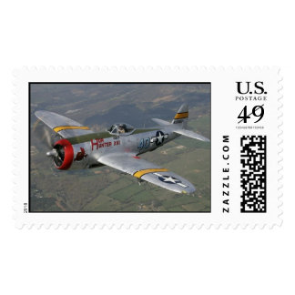 p-51 plane stamps
