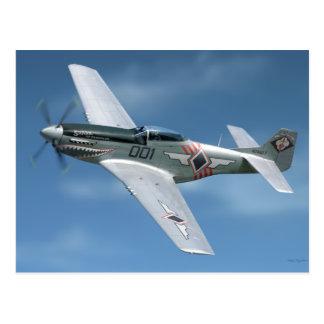 """P-51 """"Shark of Zambales"""" Postcard"""