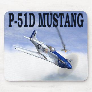 P-51 vs BF109 MOUSEPAD