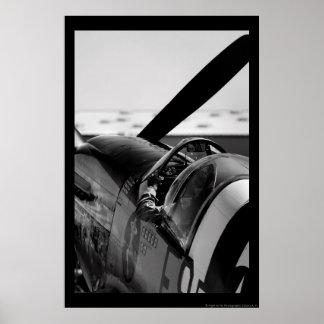 P-51B Mustang Poster