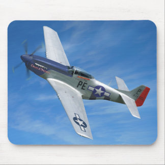"P-51D ""Cripes A' Mighty"" Mouse Pad"