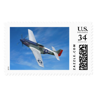 """P-51D """"Cripes A' Mighty"""" Postage"""
