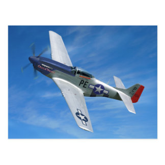 "P-51D ""Cripes A' Mighty"" Postcard"