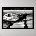 P-51D Mustang - Hell-er Bust Poster