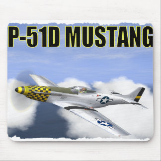P-51D MUSTANG MOUSE PAD