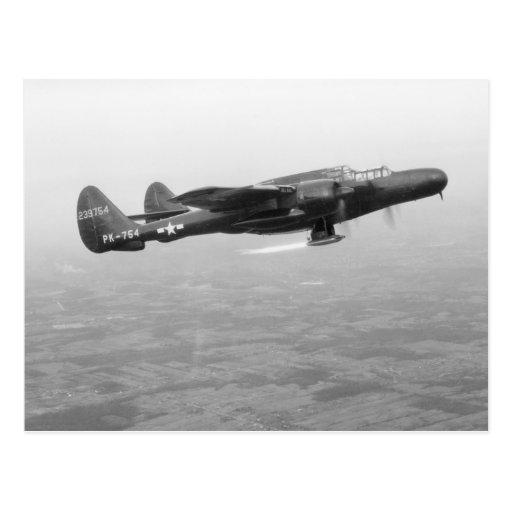 P-61 Black Widow Postcards