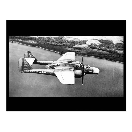 P-61 Black Widow Postcard