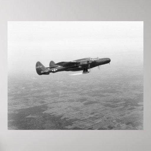 P-61 Black Widow Print