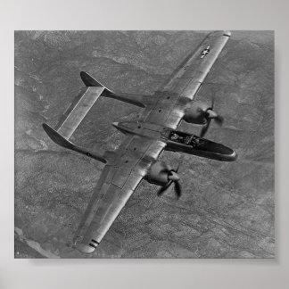 P-61 Black Widow Poster