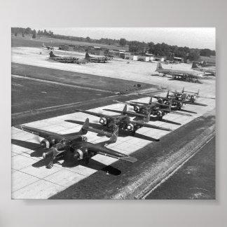 P-61 Black Widows Poster