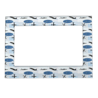 P-80 Shooting Star 5 Plane Set Magnetic Picture Frame