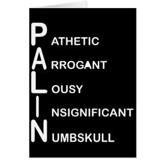 P.A.L.I.N CARD