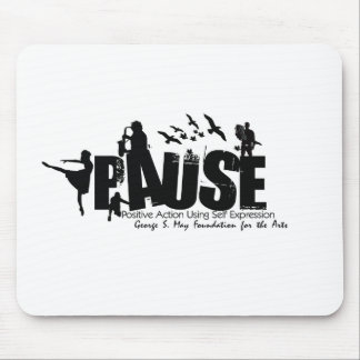 P.A.U.S.E. Initiative Logo Products Mouse Pad