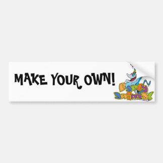 P_animal, MAKE YOUR OWN! Bumper Sticker
