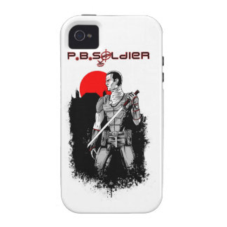 P.B.Soldier Vibe iPhone 4 Case
