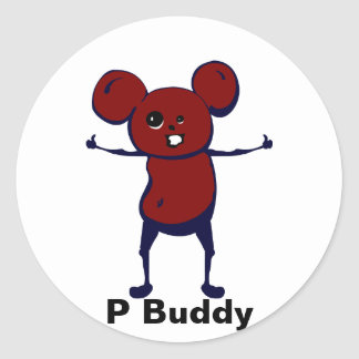 P Buddy Stickers