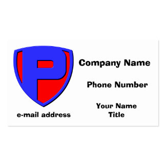 P BUSINESS CARD