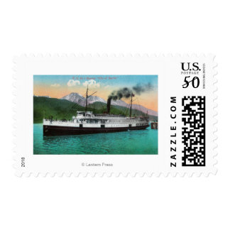 "P. C. Co's Steamer ""City of Seattle"" Postage"