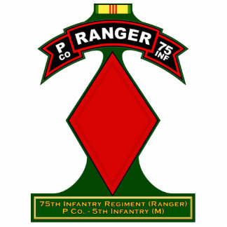 P Co, 75th Infantry Regiment - Rangers, Vietnam Cutout