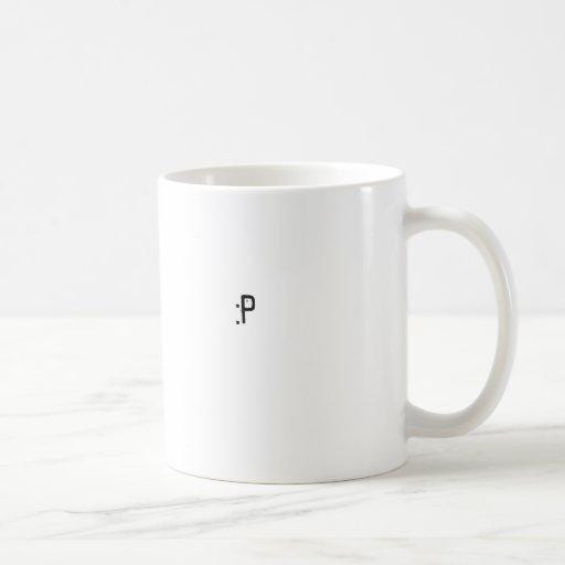 :P COFFEE MUGS