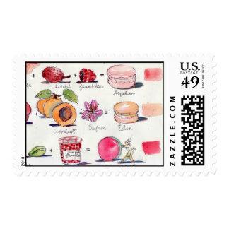 P comme Parfum Macaron postage