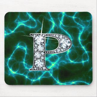 """P """"Diamond Bling"""" Lightning Mousepad"""