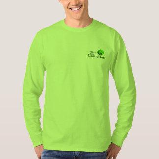 P&E Pest Lime green long sleeve Shirts